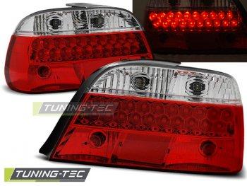 Задние фонари от Tuning-Tec LED Red Crystal на BMW 7 E38