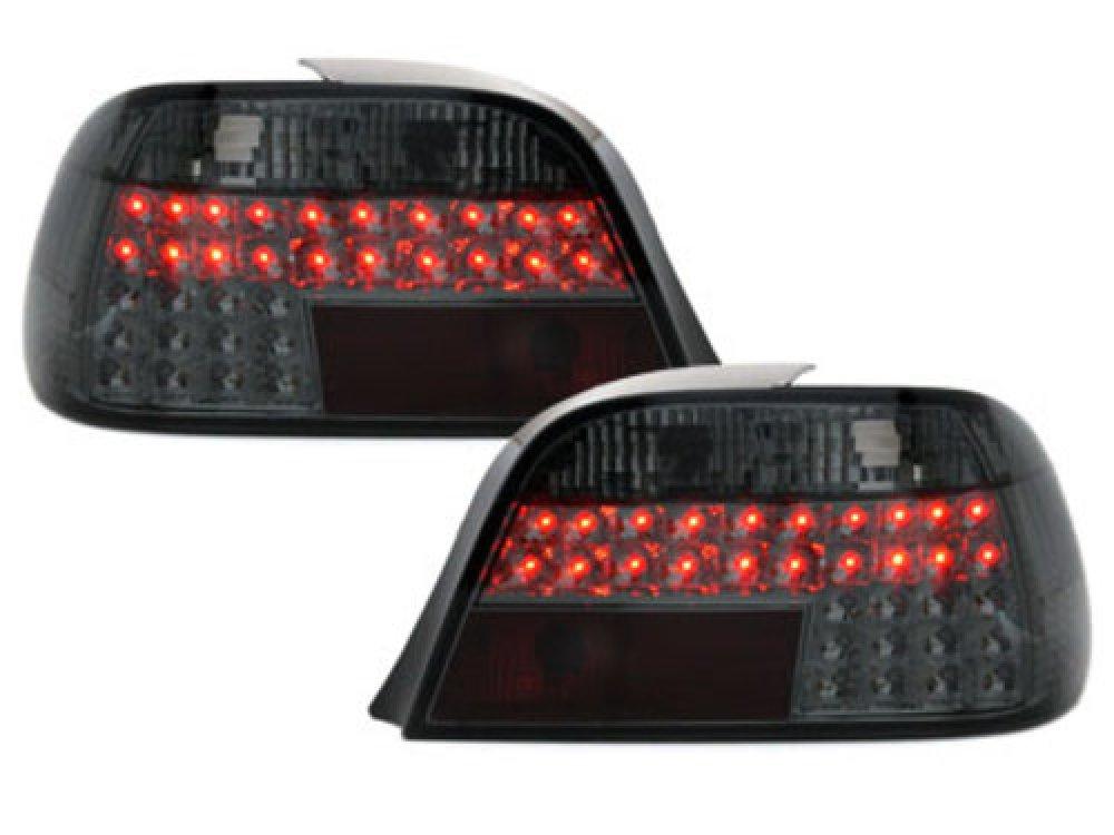 Задние светодиодные фонари LED Smoke на BMW 7 E38