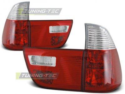 Задние фонари Red Crystal Var2 на BMW X5 E53