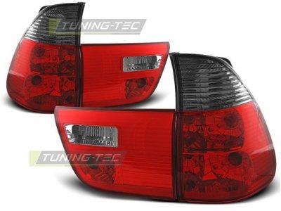 Задние фонари Red Smoke Var2 на BMW X5 E53