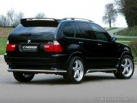 На BMW X5 E53 - задняя альтернативная оптика, фонари