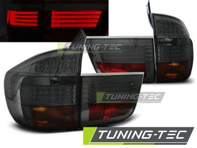 Задние фонари LED Smoke на BMW X5 E70