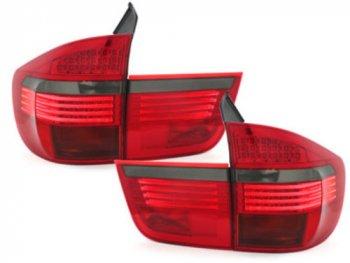 Задние фонари LED Red Smoke на BMW X5 E70