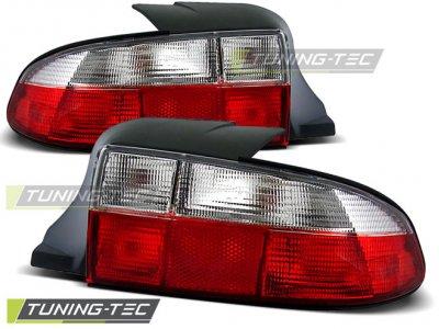 Задние фонари Red Crystal Var2 на BMW Z3 E36