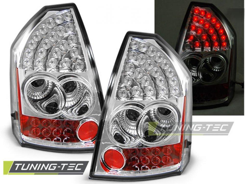 Задние фонари LED Chrome на Chrysler 300C