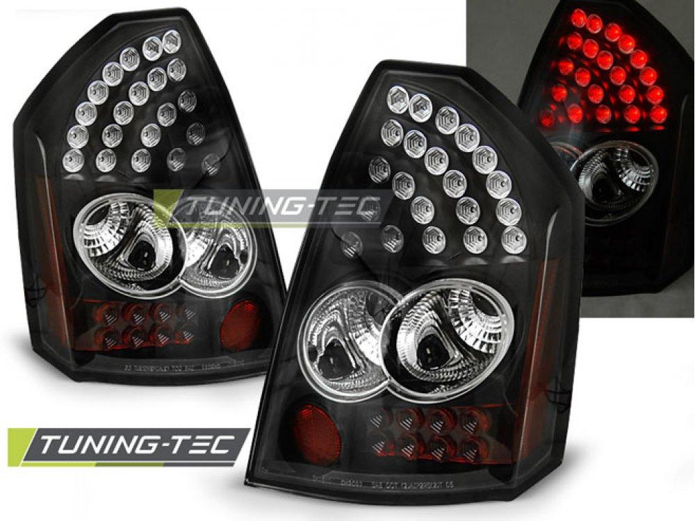 Задние фонари LED Black на Chrysler 300C