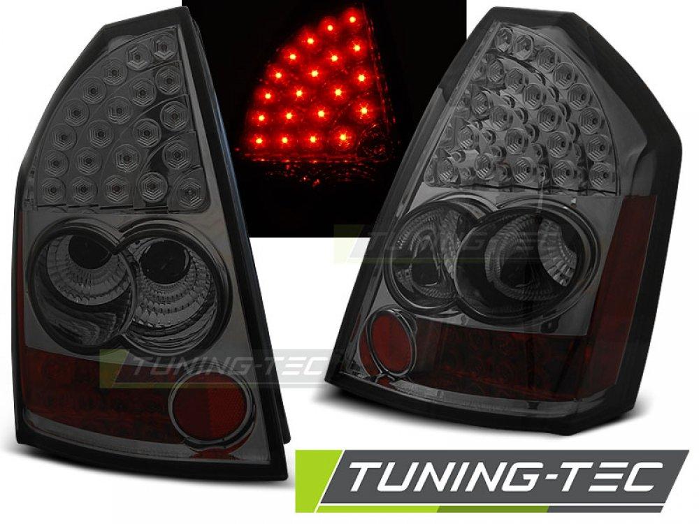 Задние фонари LED Smoke на Chrysler 300C