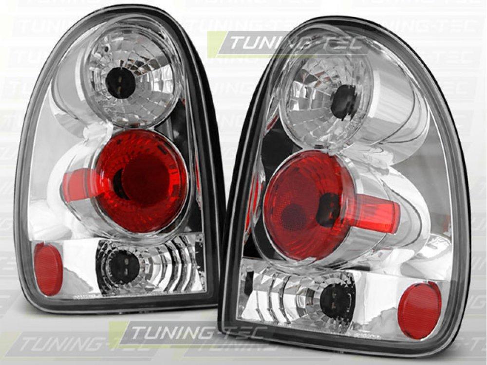 Задние фонари Chrome на Chrysler Voyager III