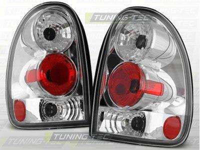Задние тюнинговые фонари Chrome на Chrysler Voyager III