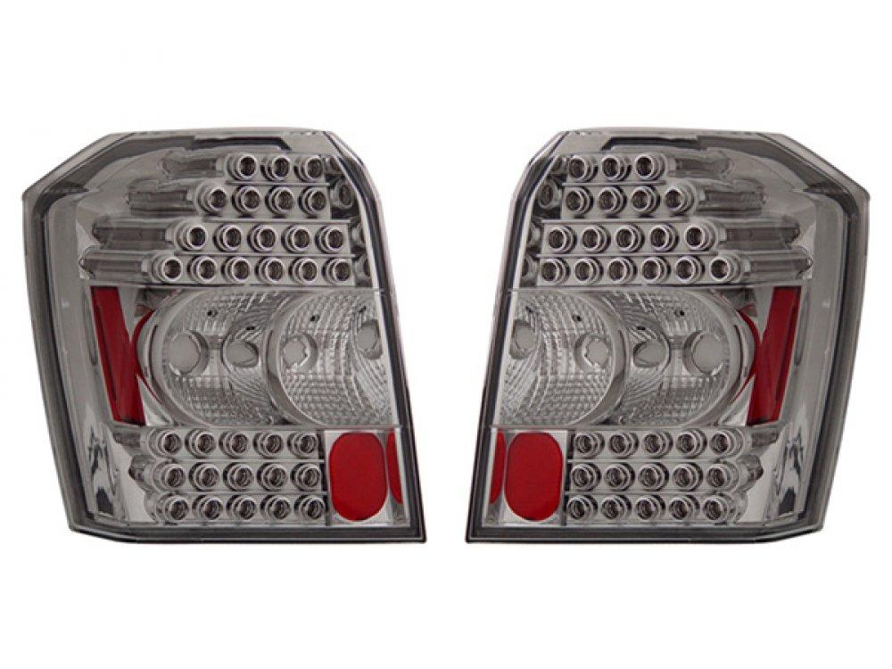 Задние фонари LED Chrome на Dodge Caliber