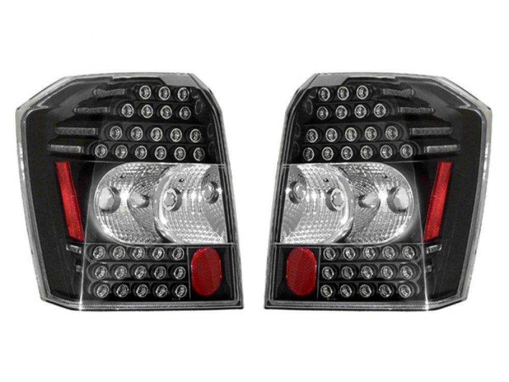 Задние фонари LED Black на Dodge Caliber