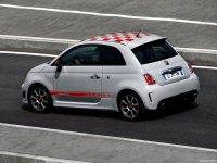 На Fiat 500 - задняя альтернативная оптика, фонари