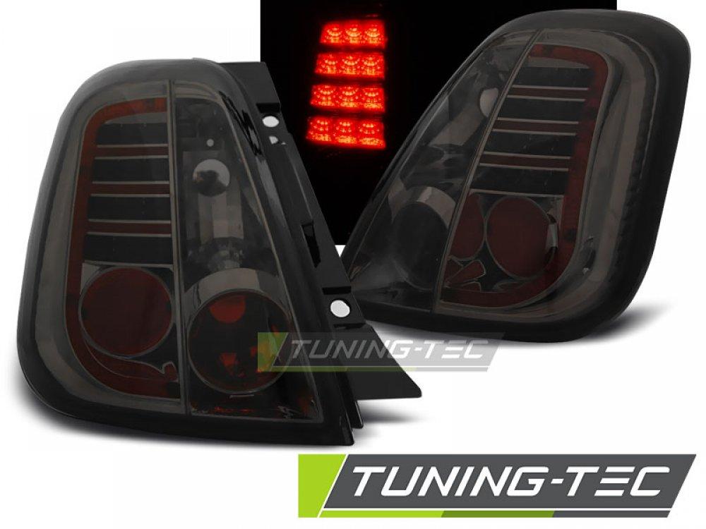 Задние фонари LED Smoke от Tuning-Tec на Fiat 500