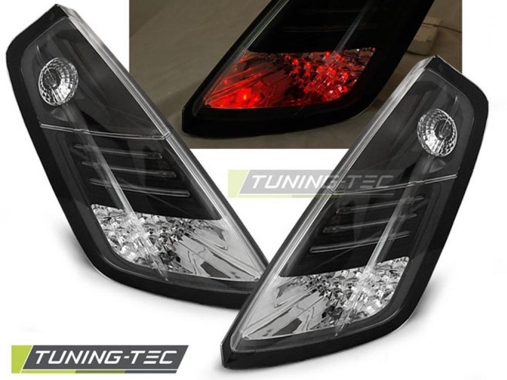 Задние фонари LED Black от Tuning-Tec на Fiat Grande Punto