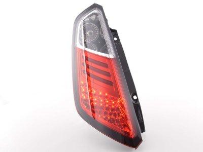 Задняя альтернативная оптика LED Red Crystal на Fiat Grande Punto