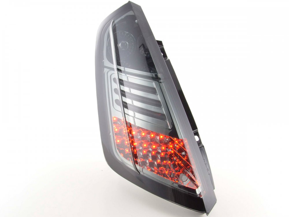 Задние фонари LED Smoke на Fiat Grande Punto