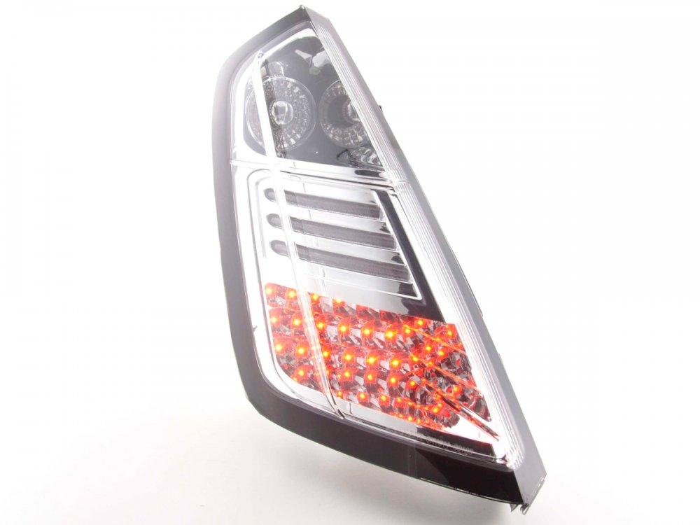 Задние фонари LED Chrome на Fiat Grande Punto