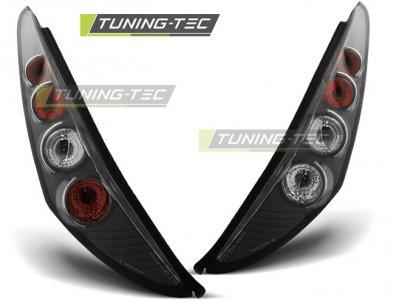 Задние фонари Black от Tuning-Tec на Fiat Punto II 3D