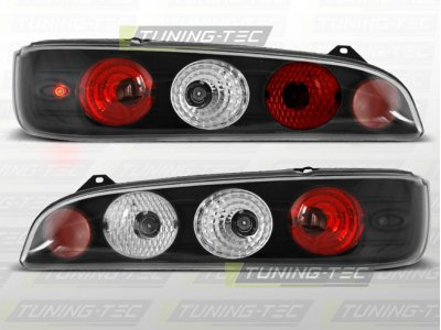 Задняя альтернативная оптика Black от Tuning-Tec на Fiat Seicento