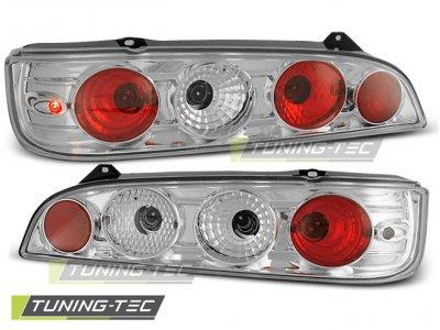 Задние фонари Chrome от Tuning-Tec на Fiat Seicento