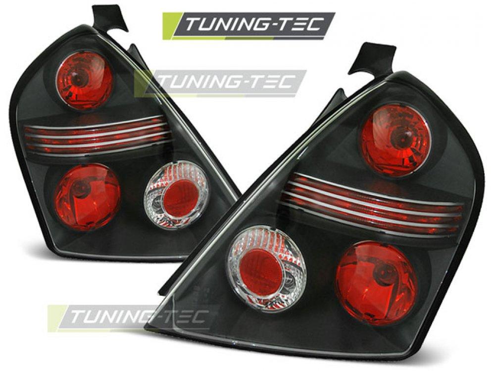 Задние фонари Black от Tuning-Tec на Fiat Stilo 3D
