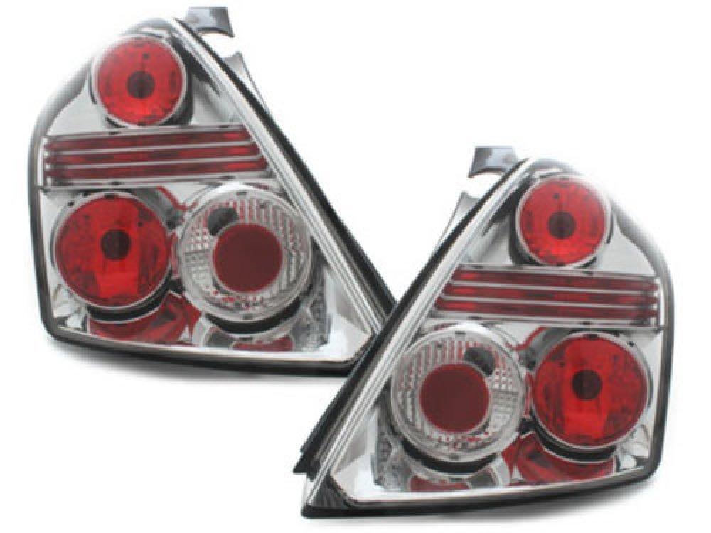 Задние фонари Chrome на Fiat Stilo 3D