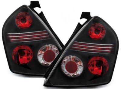 Задние фонари Black на Fiat Stilo 3D
