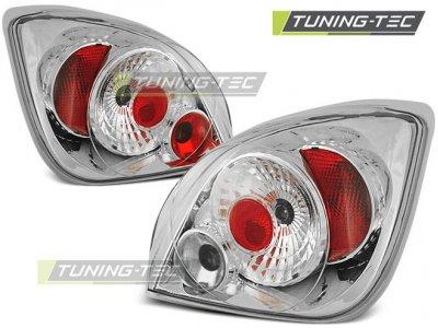 Задняя альтернативная оптика Chrome от Tuning-Tec на Ford Fiesta IV / V