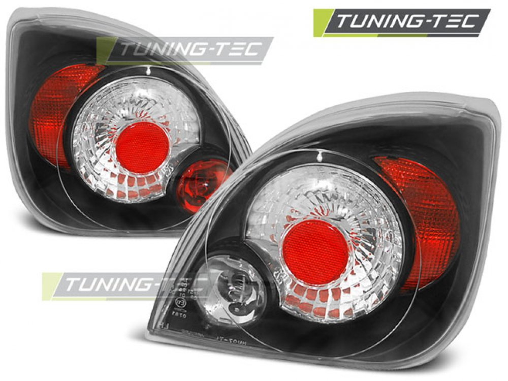 Задние фонари Black от Tuning-Tec на Ford Fiesta IV / V