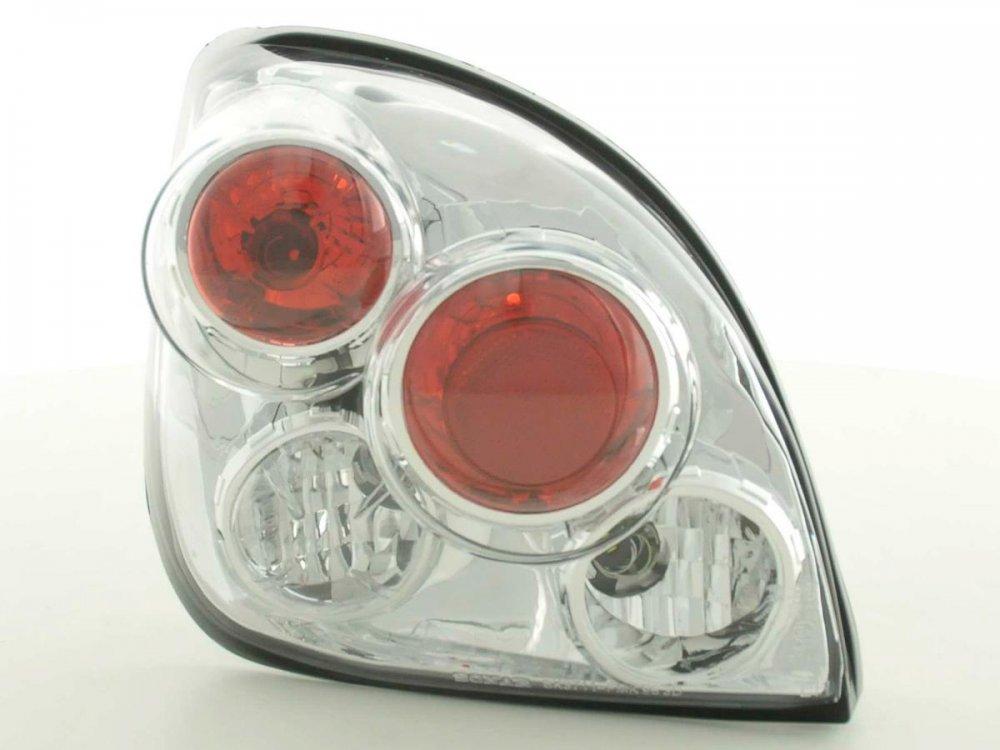 Задние фонари Chrome на Ford Fiesta IV / V