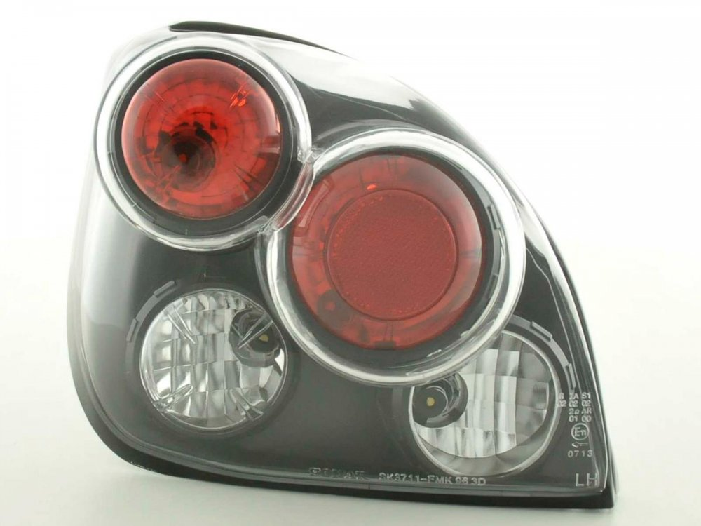Задние фонари Black на Ford Fiesta IV / V