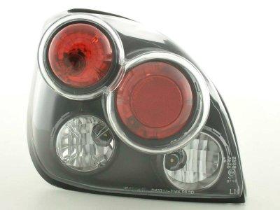 Задние тюнинговые фонари Black на Ford Fiesta IV / V