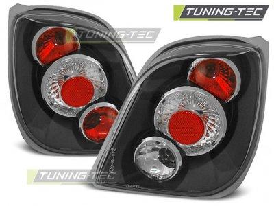 Задние фонари Black от Tuning-Tec на Ford Fiesta III