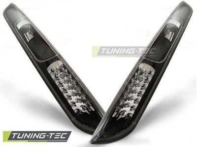 Задние светодиодные фонари чёрные от Tuning-Tec на Ford Focus II Hatchback
