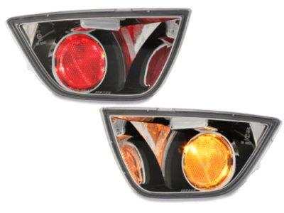 Задние альтернативные ПТФ Chrome для Ford Focus II