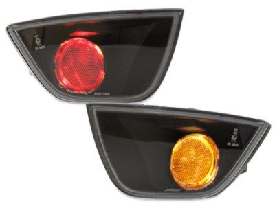 Задние альтернативные ПТФ Black для Ford Focus II