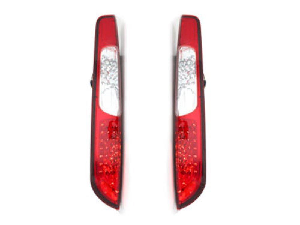 Задние фонари Full LED Red Crystal на Ford Focus II рестайл