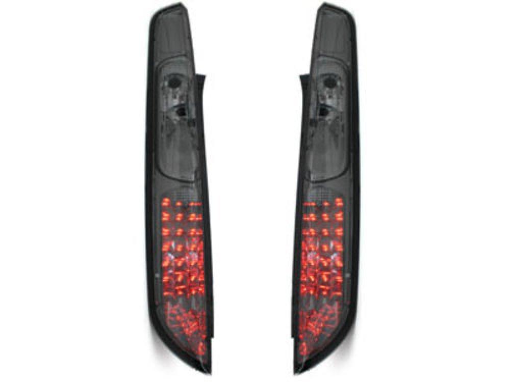 Задние фонари LED Smoke на Ford Focus II рестайл