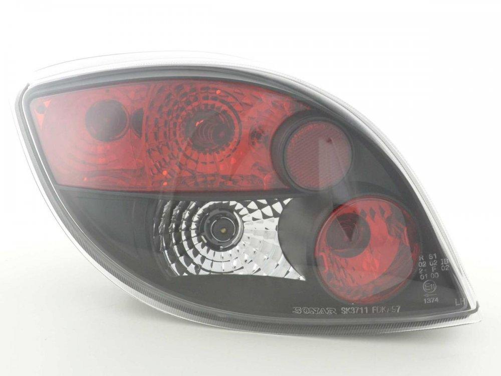 Задние фонари Black на Ford KA I