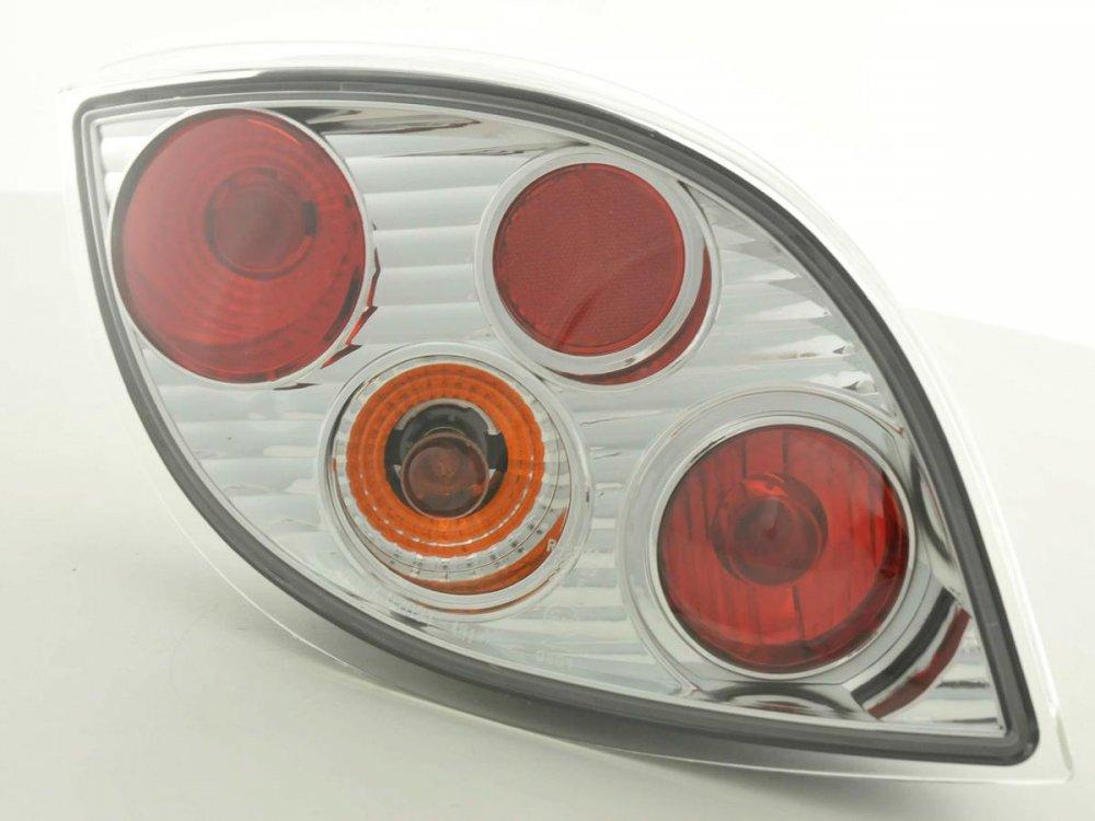 Задние тюнинговые фонари Chrome на Ford KA I