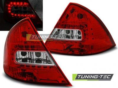 Задние фонари LED Red Crystal на на Ford Mondeo III