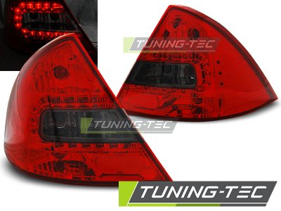 Задние фонари LED Red Smoke на на Ford Mondeo III
