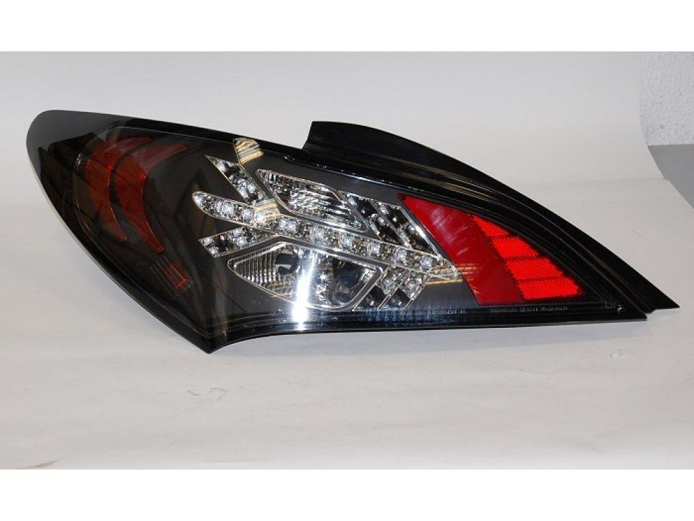 Задние фонари LED Black на Hyundai Genesis