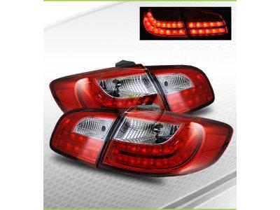 Задние фонари LED Red Crystal на Hyundai Santa Fe II