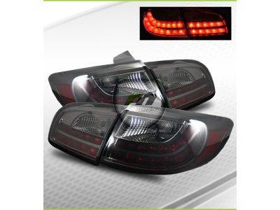 Задние фонари LED Smoke на Hyundai Santa Fe II