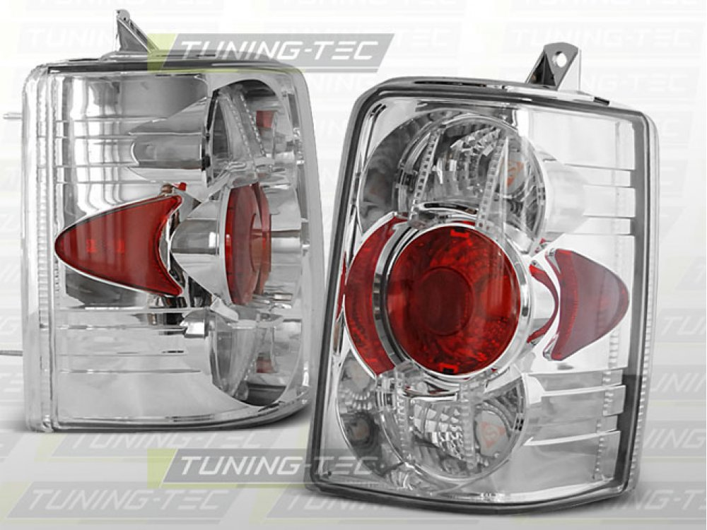 Задние фонари Chrome на Jeep Grand Cherokee ZJ