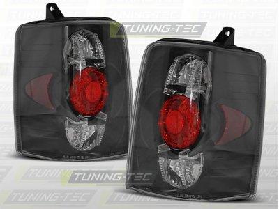 Задние фонари Black на Jeep Grand Cherokee ZJ
