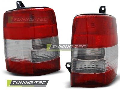 Задняя альтернативная оптика Red White на Jeep Grand Cherokee ZJ