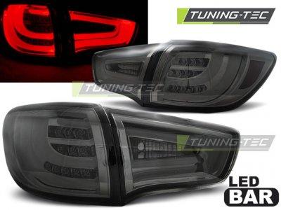 Задние фонари Neon Led Bar Smoke на Kia Sportage III