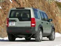 На Land Rover Discovery III - задняя альтернативная оптика, фонари